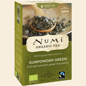 Gunpowder green van Numi