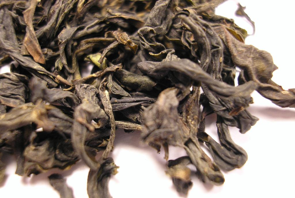 HMG_Oolong_tea_leaf Huang Meigui oolong